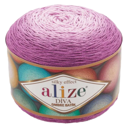 Alize Diva Ombre Batik 7244 Silky Effect (1)