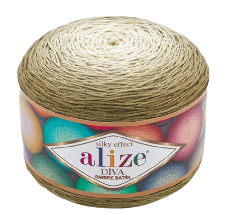 Alize Diva Ombre Batik 7374 Silky Effect (1)