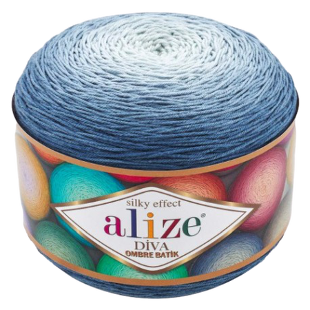 Alize Diva Ombre Batik 7379 Silky Effect (1)