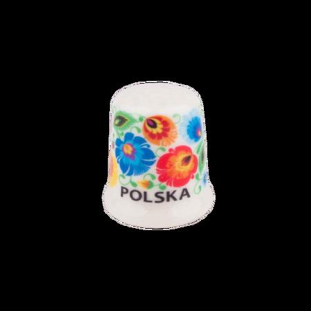Ceramiczny naparstek ŁOWICKI  (1)