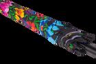 Parasol - duży - łowicki czarny (5)