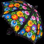 Parasol - duży - łowicki czarny (1)