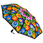 Parasolka automatyczna mała - łowicka czarna (1)