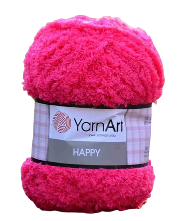 YarnArt Happy kolor cyklamen 775 (1)