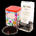 Herbata czarna z wiśniami w puszce - łowicka biała (1)