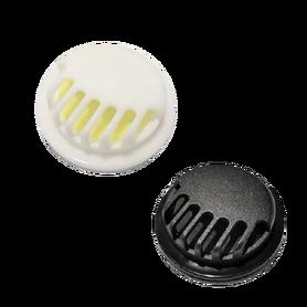 Zaworek filtrujący jednokierunkowy do maseczek biały lub czarny