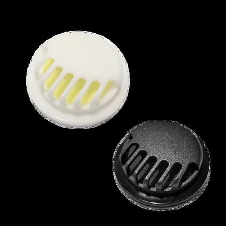 Zaworek filtrujący jednokierunkowy do maseczek biały lub czarny (1)