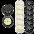 Zaworek filtrujący jednokierunkowy do maseczek biały lub czarny (2)
