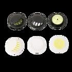Zaworek filtrujący jednokierunkowy do maseczek biały lub czarny (3)