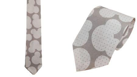 Krawat 100% bawełna wzór miki (1)