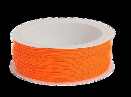Sznurek żaluzjowy / do makram / łazienkowy / do sutaszu kolor NEON POMARAŃCZOWY sz05 (1)
