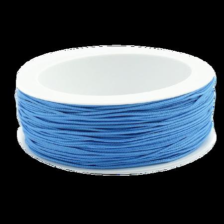 Sznurek żaluzjowy / do makram / łazienkowy / do sutaszu kolor NIEBIESKI sz12 (1)
