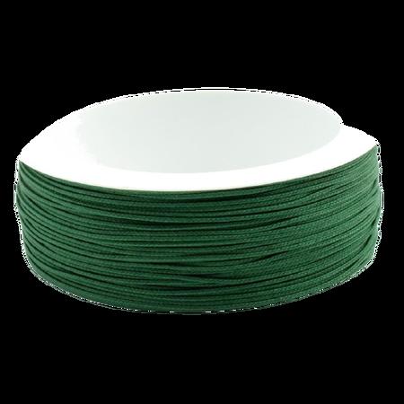Sznurek żaluzjowy / do makram / łazienkowy / do sutaszu kolor CIEMNY ZIELONY sz14 (1)