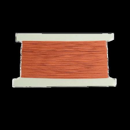 Sznurek żaluzjowy / do makram / łazienkowy / do sutaszu kolor CEGLANY sz15 (1)