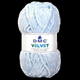 DMC Velvet 003 kolor jasny niebieski