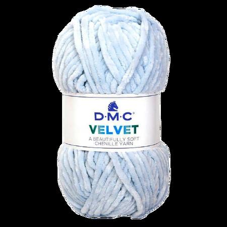 DMC Velvet 003 kolor jasny niebieski (1)