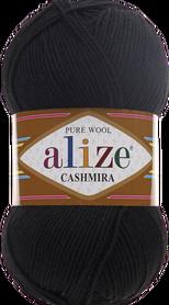 Alize Cashmira kolor czarny 60