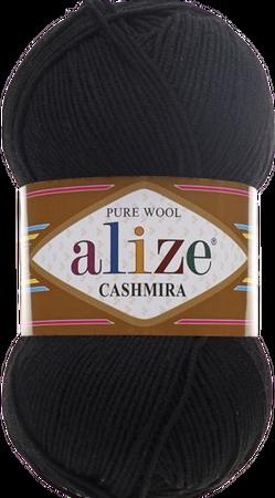 Alize Cashmira kolor czarny 60 (1)