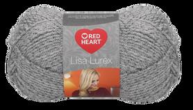 Red Heart Lisa Lurex kolor szary 00009