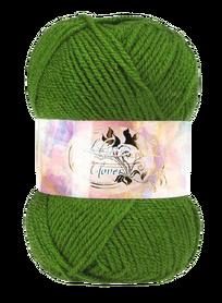 Clover 50g kolor zielony 027