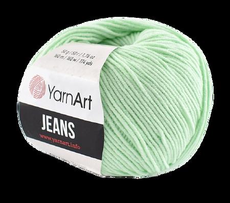 Yarn Art Jeans 79 kolor miętowy (1)