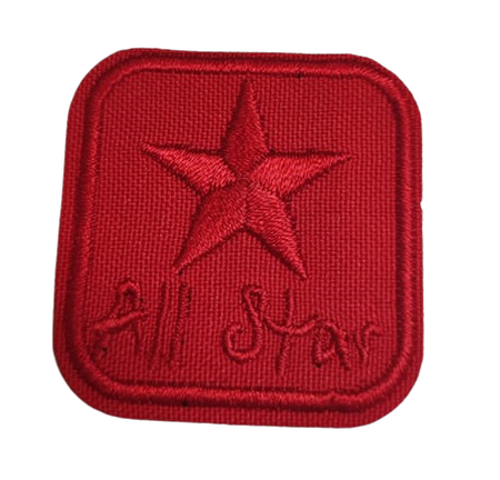 Naprasowanka / aplikacja TERMO 4 x 4 cm ALL STAR (1)