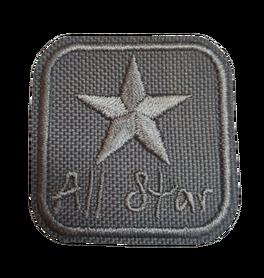 Naprasowanka / aplikacja TERMO 4 x 4 cm ALL STAR