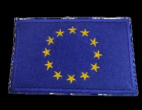 Naprasowanka / aplikacja TERMO 8 x 5 cm FLAGA UNII EUROPEJSKIEJ