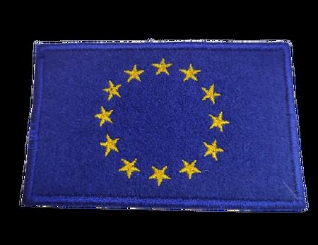 Naprasowanka / aplikacja TERMO 8 x 5 cm FLAGA UNII EUROPEJSKIEJ (1)
